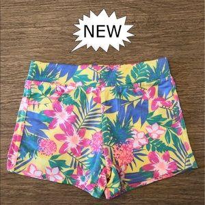 Shorts! Girls! Tropical Color Summer Shorts, NWOT.
